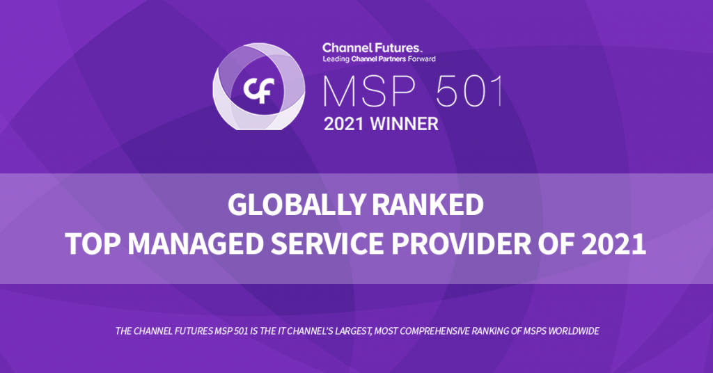 MSP501 Honors Community IT with a spot on the 2021 ranked list of top MSP providers worldwide, one of the only MSPs serving nonprofits to win