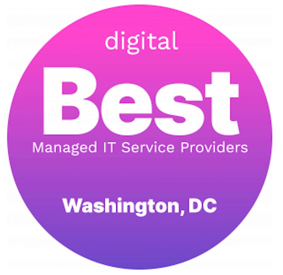 image of circle badge digital names Community IT Best Managed IT Service Providers Washington DC